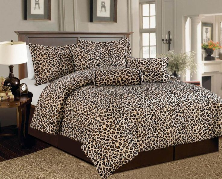 cheetah print bedroom decorations