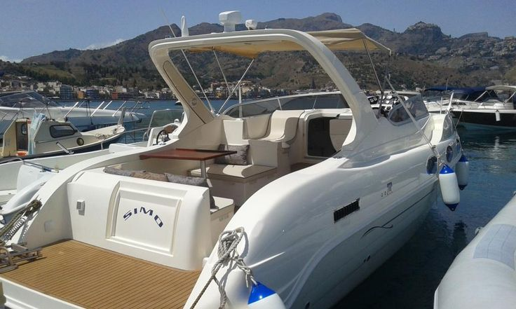 SEACODE 35 Powerboat for cruising in #Taormina #Sicily