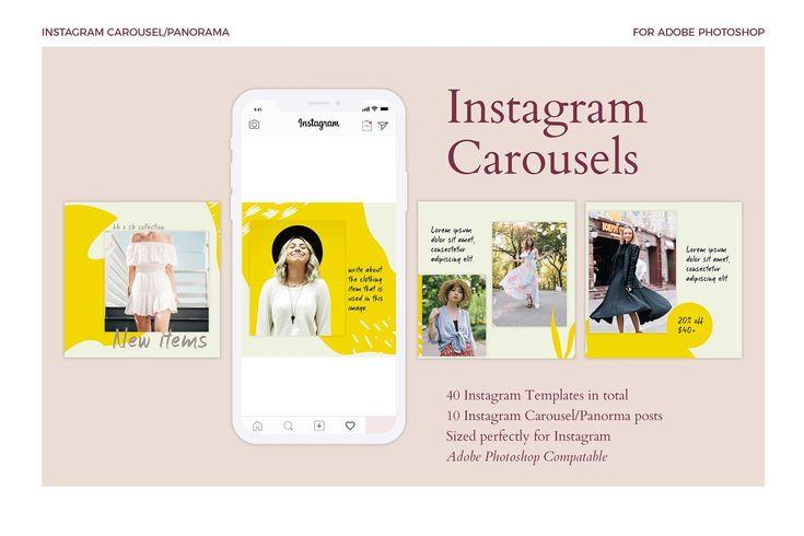 Instagram Carousels Pack Instagram Template Design Instagram Instagram Template