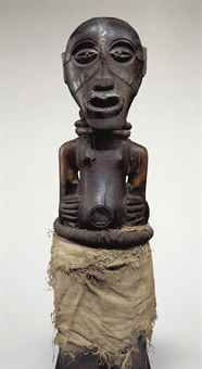 Price realised  USD 245,000 Songye Kalebwe Power Figure
