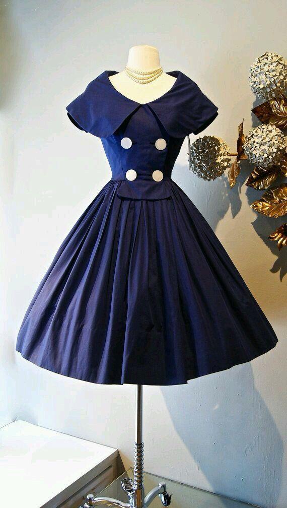 moda 1950 vintage fashion vintage
