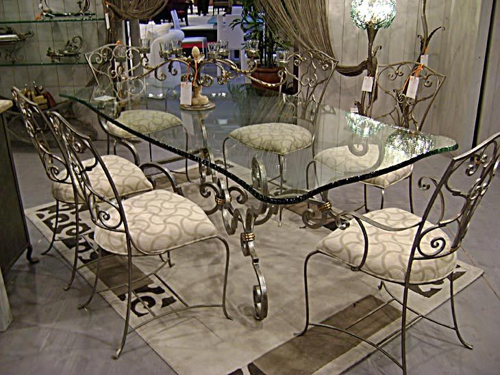 17 best ideas about table fer forg on pinterest table for Meuble antique quebecois