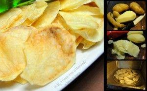 chips patatine light