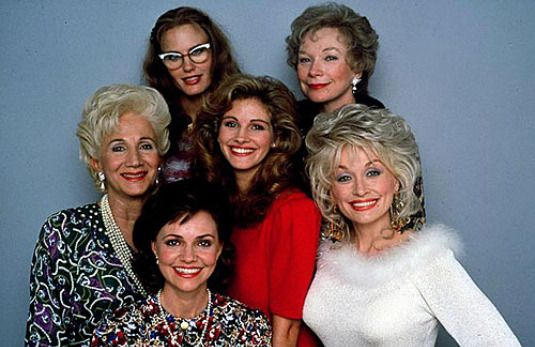 Steel Magnolias, this movie always makes me cry...and want to hug my momma