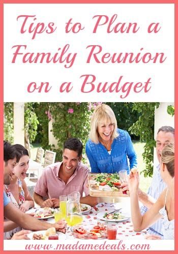 Need Family Reunion Ideas? Read our Tips on how to plan a family reunion on a budget.