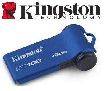 Memoria Usb De 4gb Kingston Dt 108