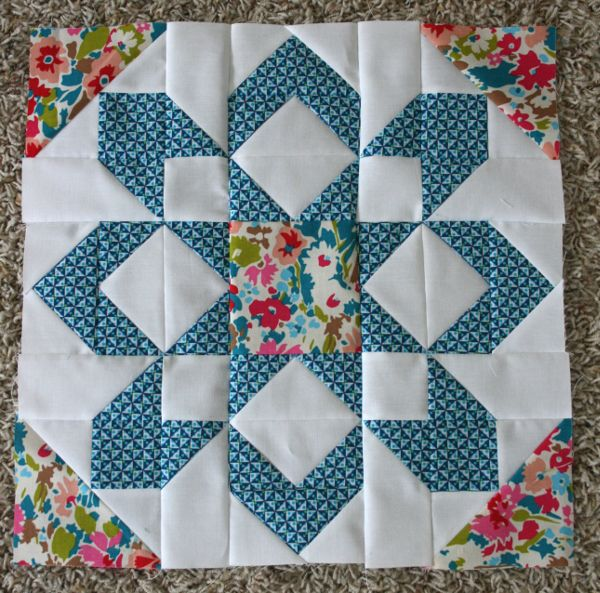 Fireworks Quilt Blocks | Hopeful Homemaker
