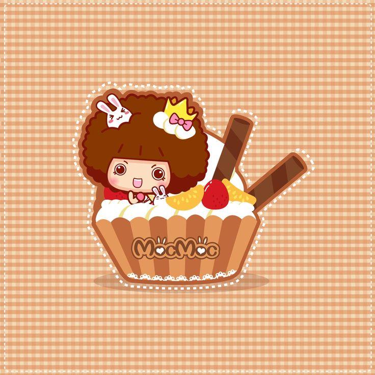 Mocmoc in cupcakes