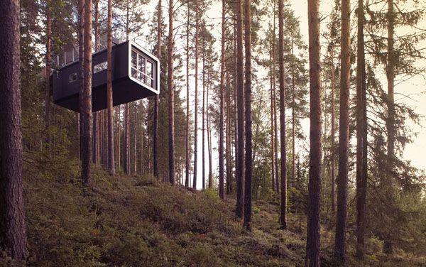 Me muero por dormir allí... Y encima está en Suecia.
