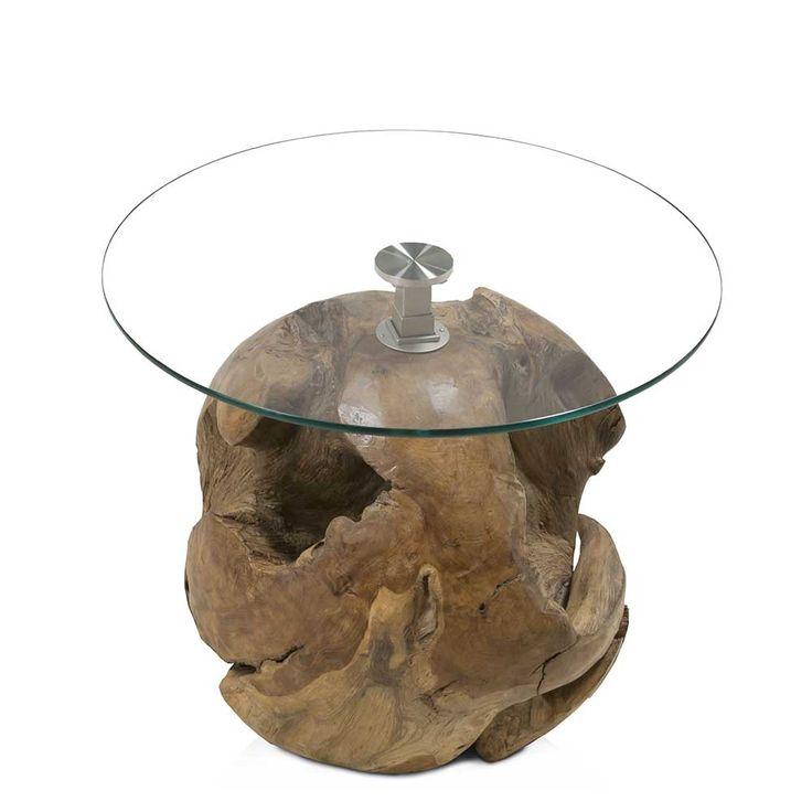 Runder Couchtisch Aus Glas Wurzelholz Jetzt Bestellen Unter Moebelladendirektde Wohnzimmer Tische Couchtische Uid6636b634 9a2b 5e8b A8c4
