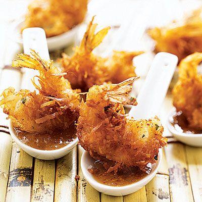 Coconut Shrimp with Maui Mustard Coastalliving.com