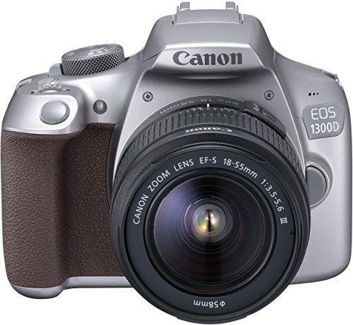 Canon EOS 1300D Digitale Spiegelreflexkamera silber  18 Megapixel, 7,6 cm  3 Zoll , APS C CMOS Sensor, WLAN mit NFC, Full HD   Kit inkl. EF S 18 55 mm sieht in Design, Funktionen und Funktion gut aus. Die beste Leistung dieses Produkts ist in der Tat einfach zu reinigen und zu kontrollieren. Das Design und das Layout sind absolut erstaunlich, die es wirklich interessant und schön machen.....