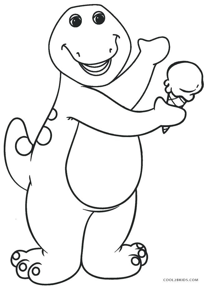 Barney Coloring Sheets Barney Coloring Pages Free Barney The ...