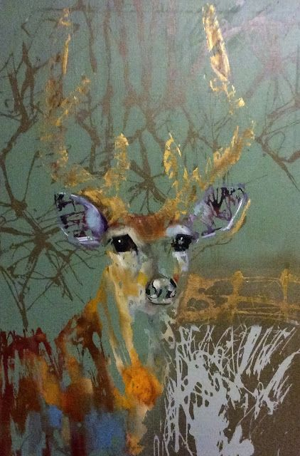 Where ART Lives Gallery Artists Group Blog: Contemporary Wildlife Oil and Acrylic Painting by Texas Artist M.Allison