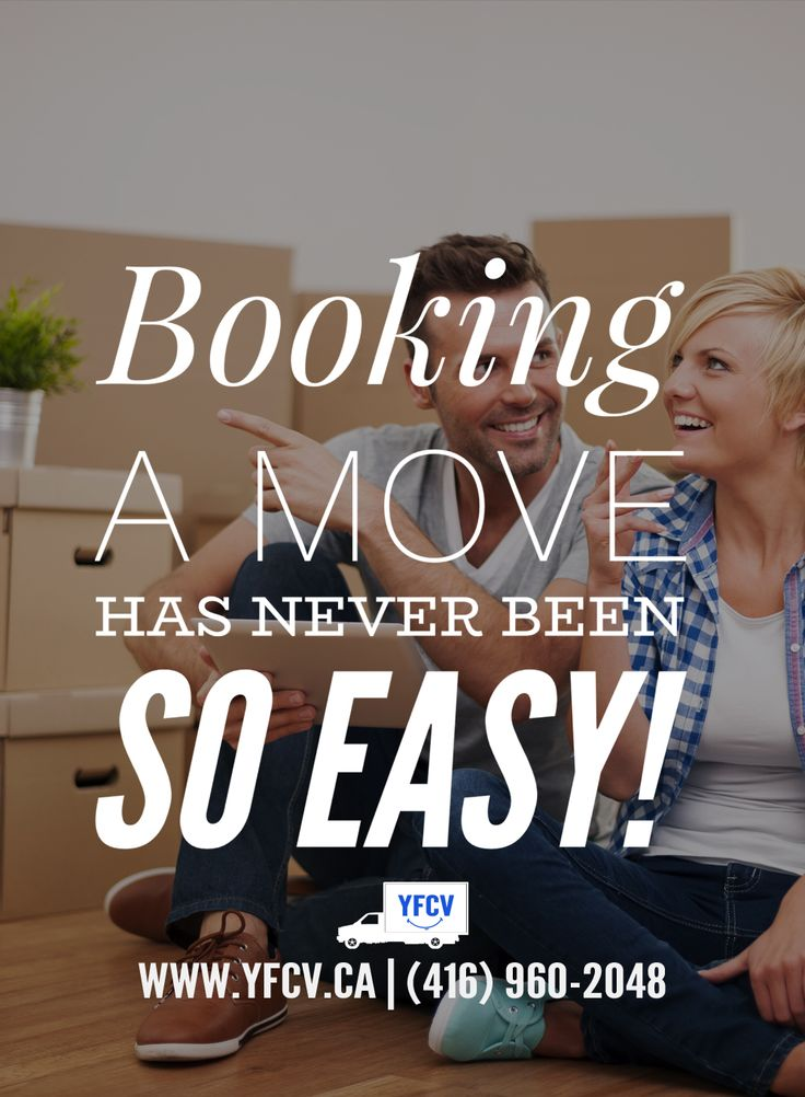 Booking a move has never been so easy! #OurServices ! #Moving #Packing #Supplies Your Friend with a Cube Van! 416-960-2048 #YFCV #Toronto #Movers www.yfcv.ca