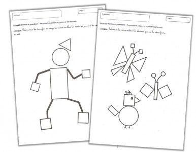 Formes et Grandeurs - Les formes géométriques - Cycle 1 ~ Orphéecole