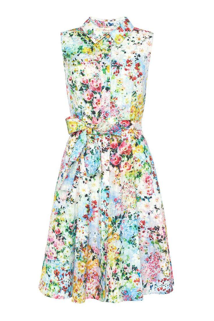 Floral Kaleidoscope Dress