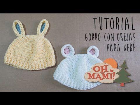 Bunny Ear Hat Knitting Pattern Youtube