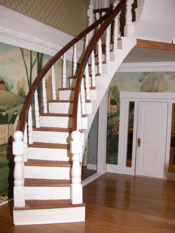 Foyer Interior Kit : Best dollhouse stairs images on pinterest