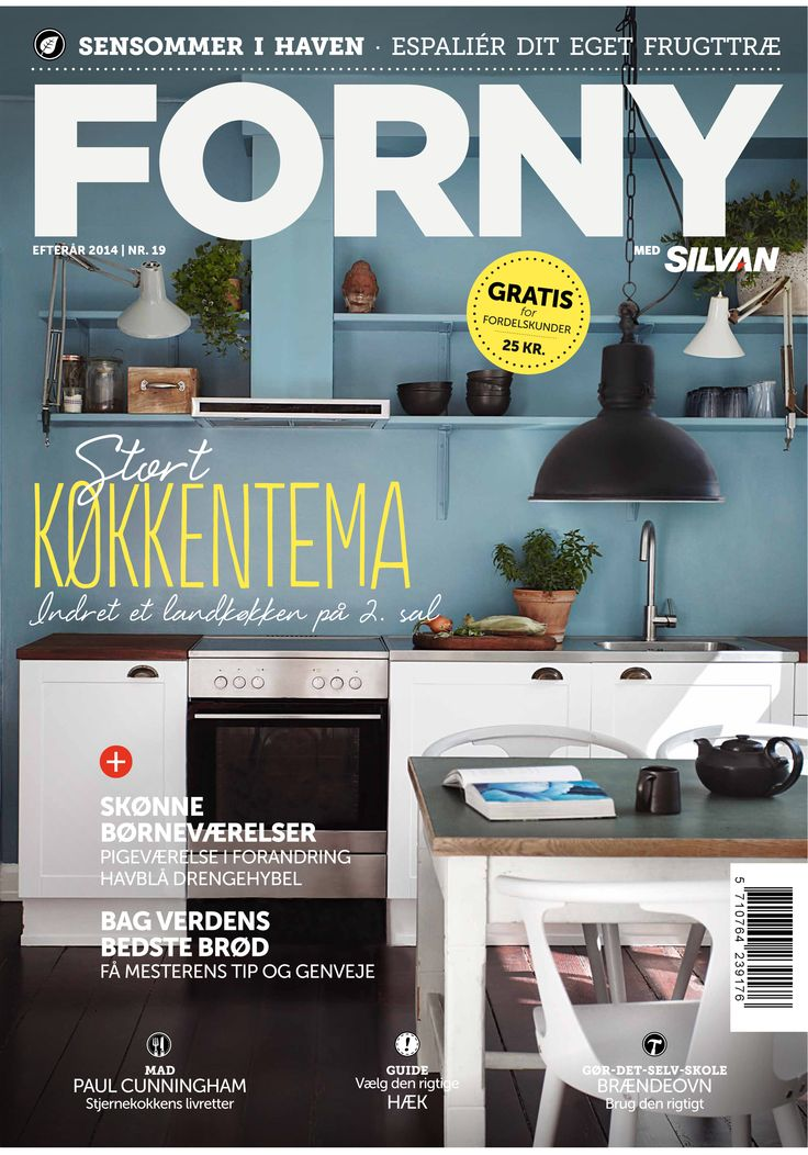 FORNY med Silvan, magasin nummer 19, efterår 2014
