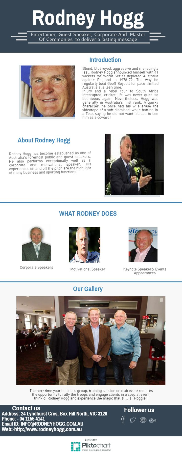 Rodney Hogg is a Soft Skills & Life Skills Trainer, Personality Development & Behavioural Skills Coach, with an excellent track record, having worked with individuals, groups teams from as varied professions and backgrounds as business, professional organizations, educational institutions.https://goo.gl/GwF5aM #InspirationalSpeakers