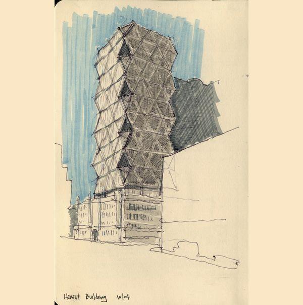 Arquiteto ilustra prédios e residências de Nova York e Chicago em série de desenhos. Os desenhos fazem parte de recordações de viagens feitas pelo arquiteto Cristián Bascuñán, baseado em Santiago, no Chile. Visite o portfólio do Cristán: http://www.behance.net/cbascu