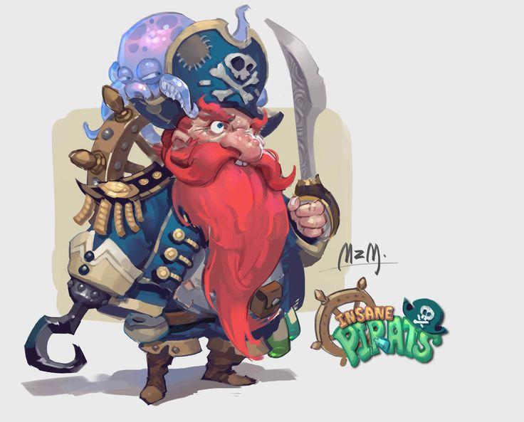 ArtStation - The pirate captain, M ZM