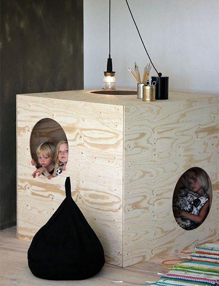 plywood childrens bedroom design ideas
