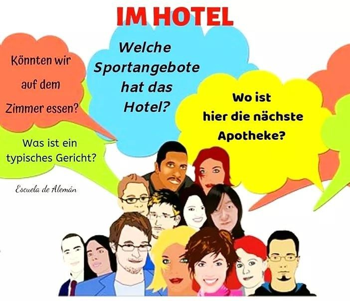Frases Cotidianas Para Hostelería En Alemán Aprender