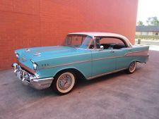 1957 Chevrolet Belair 4dr Sports Sedan - 1957 1955 1956