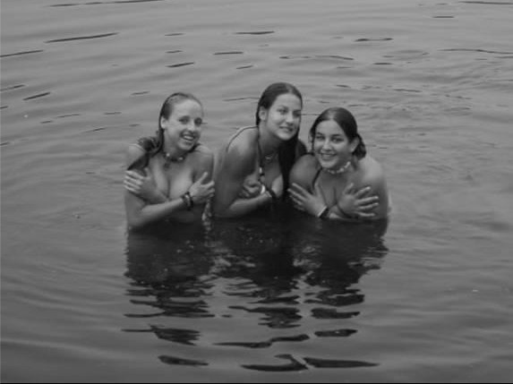 Skinny Dipping Beauties -this reminds me of something poppop would have told me as a kid :)