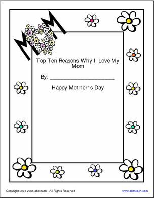 1000 images about mother 39 s day on pinterest how go mom and writing papers. Black Bedroom Furniture Sets. Home Design Ideas