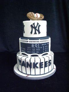 Yankee cake, NY Yankees, Red Sox still winning!,