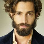 long hairstyles for men ponytail with fade