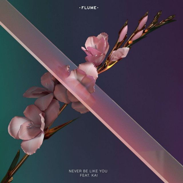 """""""Never Be Like You"""" by Flume Kai was added to my Discover Weekly playlist on Spotify"""