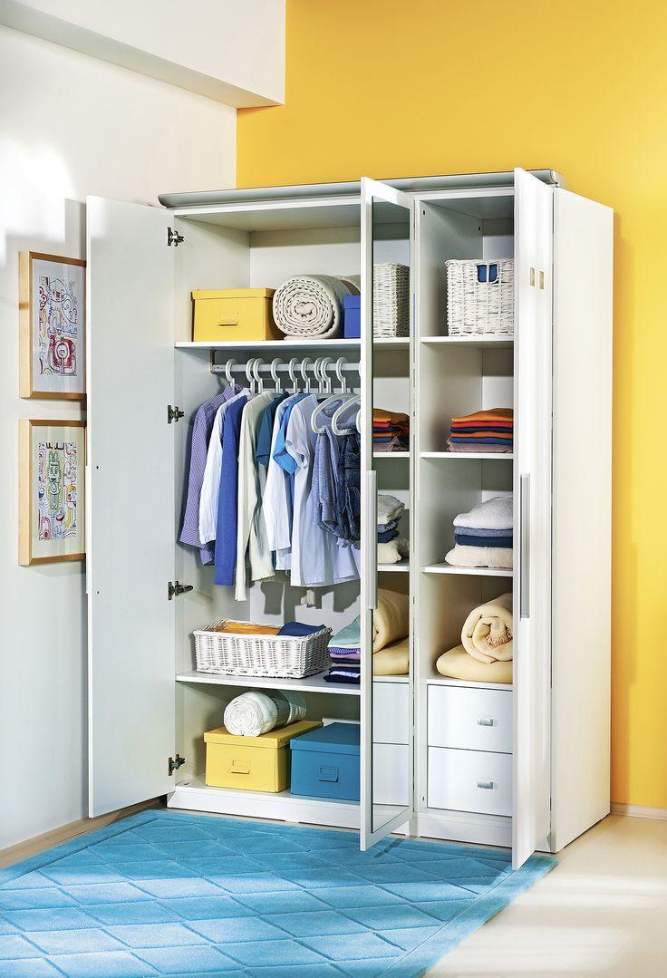 Детский трехдверный шкаф Cilek Active SLA-1002