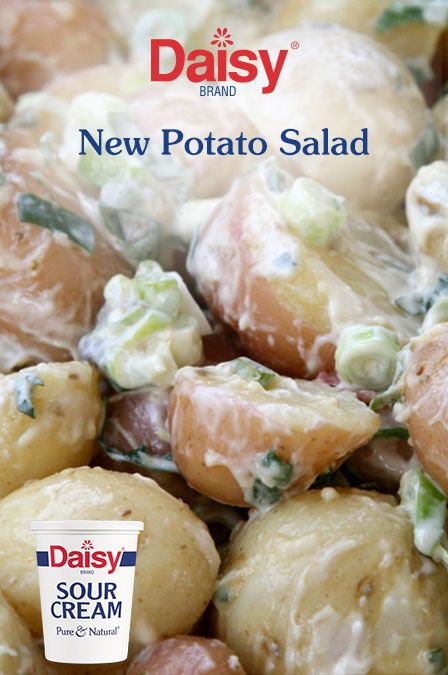 No picnic is complete without a classic potato salad. Chopped fresh dill and a Dijon dressing made with fresh, all-natural Daisy Sour Cream make this recipe a tried-and-true crowd-pleaser!