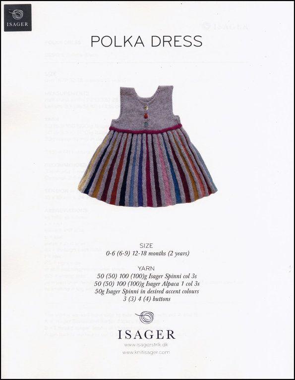 Polka Dress Pattern Printed