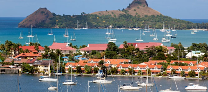 Morgan Bay Beach Resort – St. Lucia, Caribbean. Arrange island activities, such as zip-line excursions or rum-factory tours