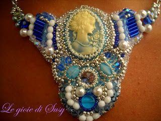 Dama in blu