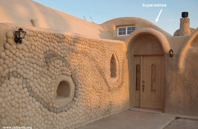UNA CASA DE ADOBE POR FUERA #adobe #casas #arquitectura #construcción #casaecologica