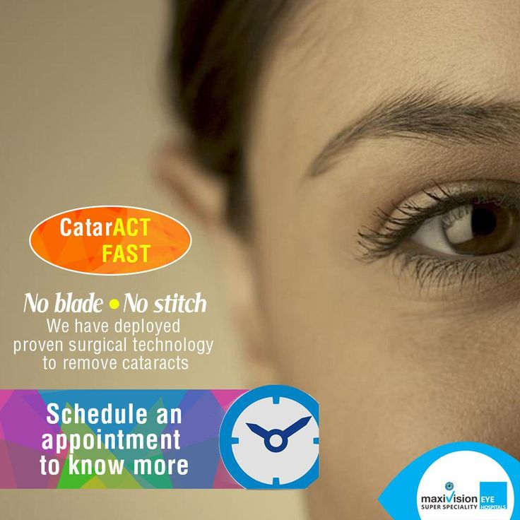 Go Blade-less, We treat you with the best equipment across. CatarACT FAST!