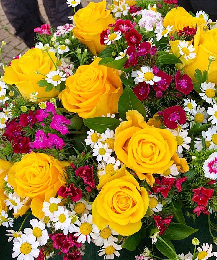 Цветы розы красивые букеты картинки для поднятия настроения