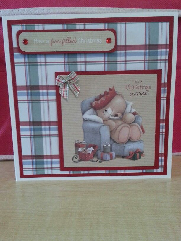 Forever Friends Christmas Kraft Notes