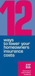12 Ways to Lower Your Homeowners INSURANCE costs