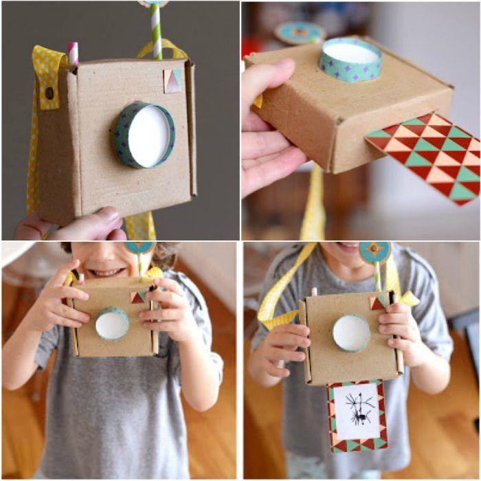Как превратить старые коробки в детские игрушки