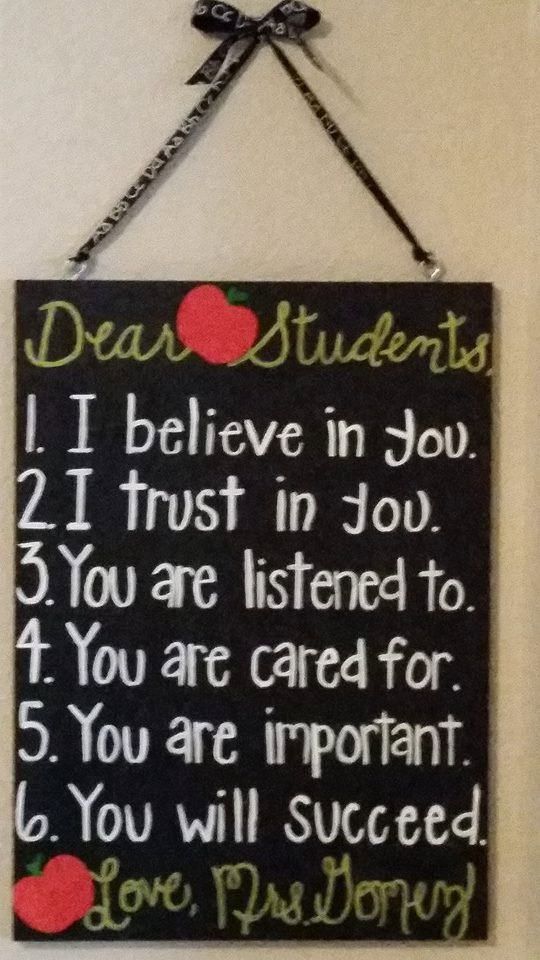 Hand Made sign by yours truly..Get yours just in time for school to start!