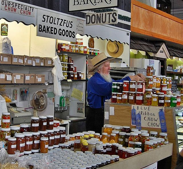 Central Market, Lancaster, PA - great place to pick up your chow chow & pickled veggies!