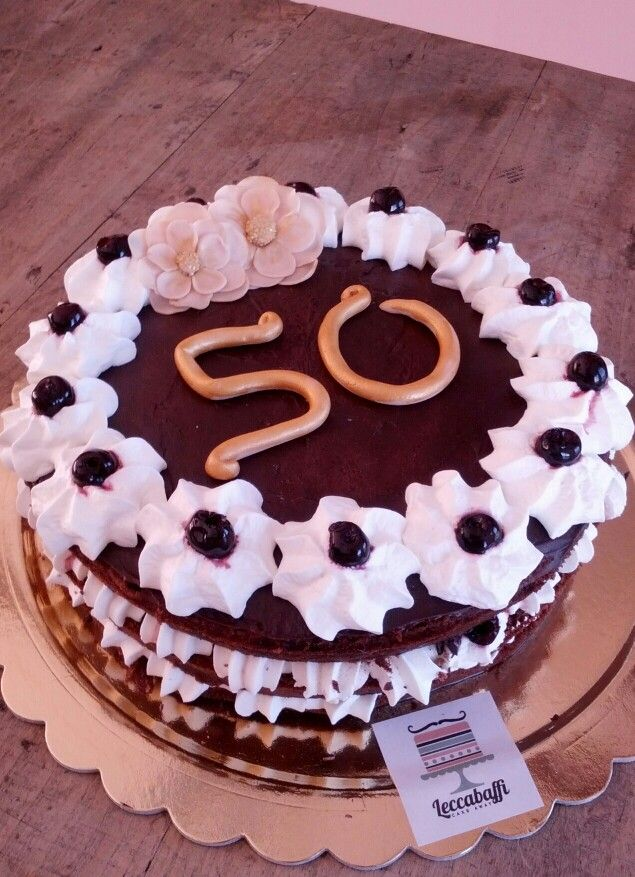 50th wedding annivetsary black forest