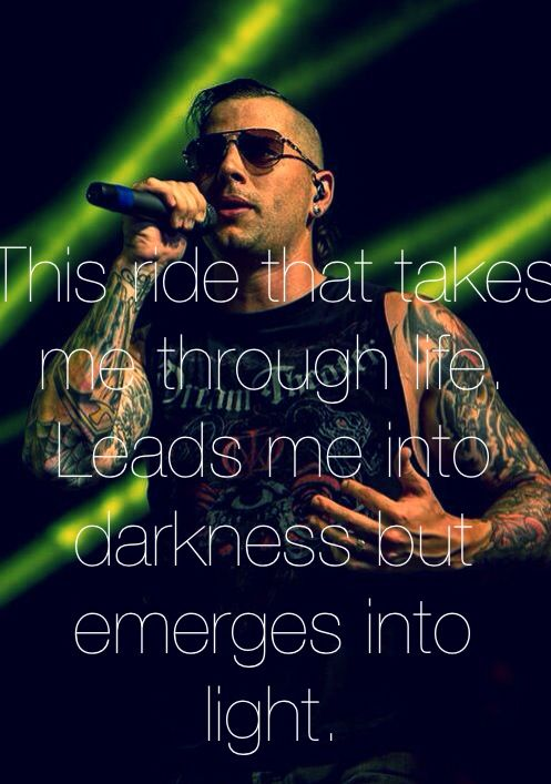 No one can ever slow me down, I'll stay unbound. - Avenged Sevenfold